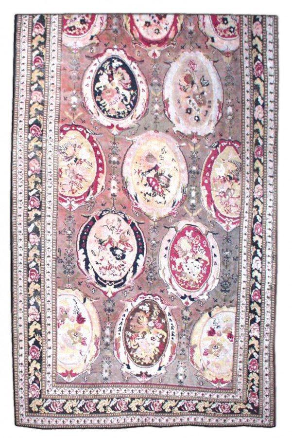 antique-rugs-russian-caucasian-karabagh-beige-botanical-bb1564-13x6
