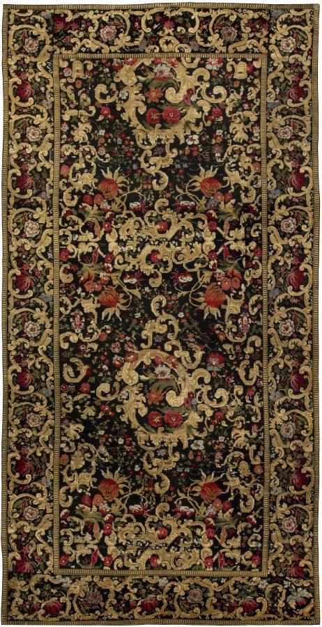 carpet-antique-russian-karabagh-red-floral-botanical-bb5075-17x8