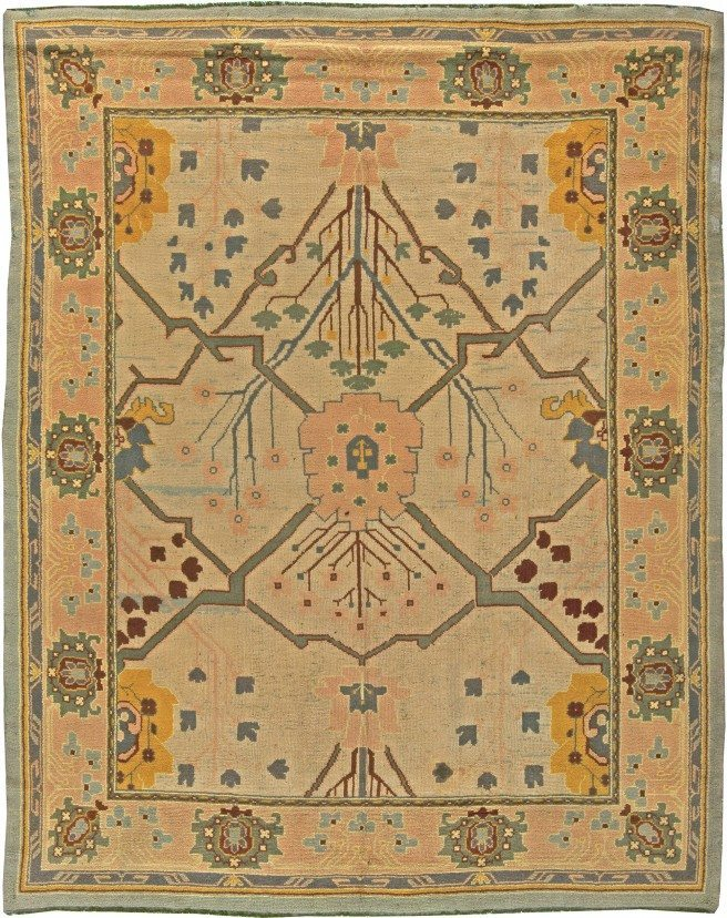 rugs-vintage-arts-crafts-by-voysey-green-floral-botanical-12x9-bb5797-