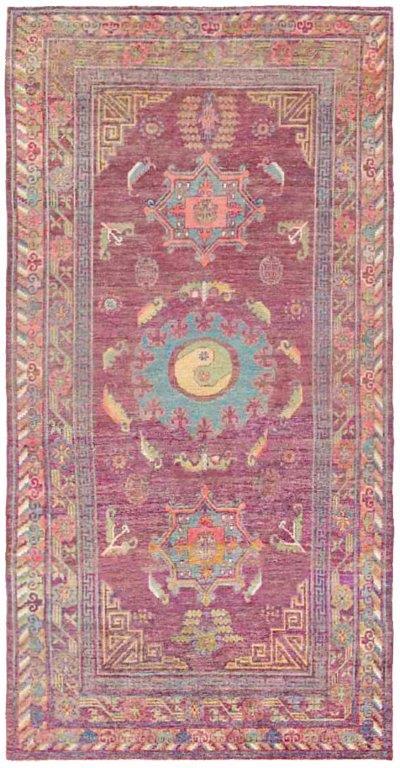 BB4367 Silk Samarkand  10.7 x 5 C. 1920