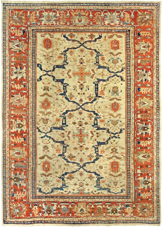 antique-rugs-persian-sulatanabad-ivory-floral-botanical-bb5228-17x12