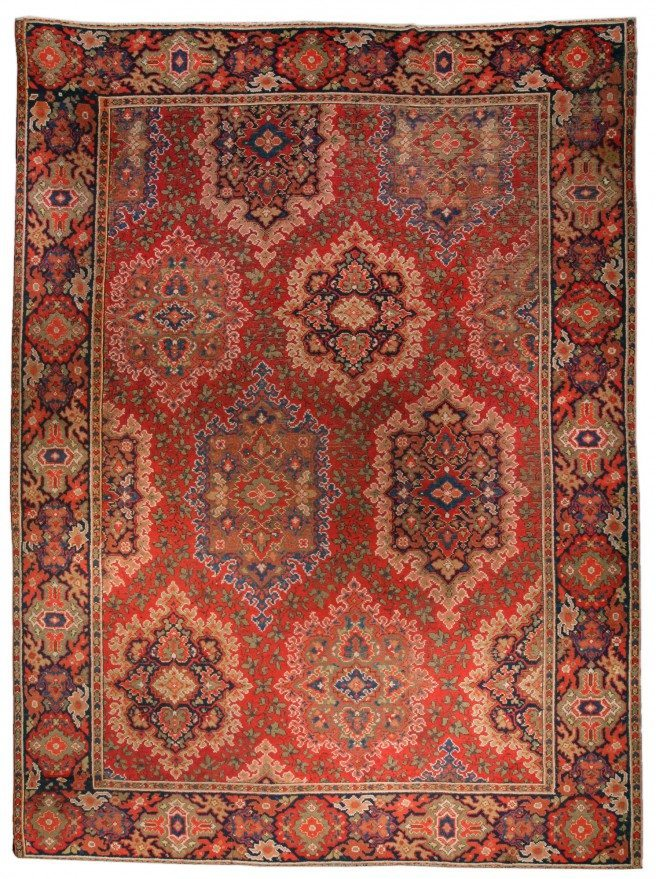 carpet-antique-european-american-wilton-english-axminster-red-botanical-geometric-bb1406-15x11