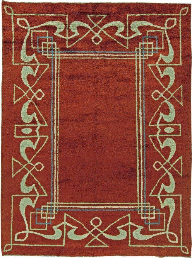 carpets-vintage-art-deco-french-vintaue-red-geometric-minimalist-11x8-bb5832
