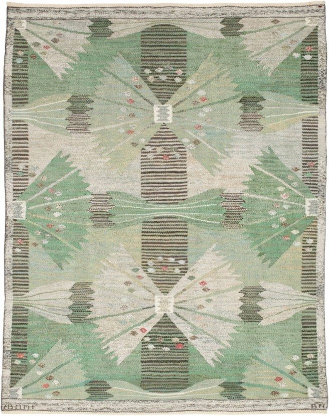 rug-swedish-scandinavian-vintage-green-floral-abstract-s1361-5204-7x4-2