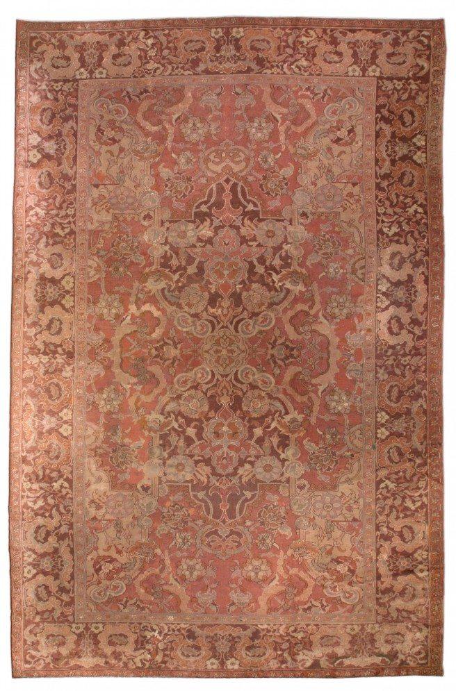 carpet-antique-turkish-hereke-red-botanical-bb0782-16x11
