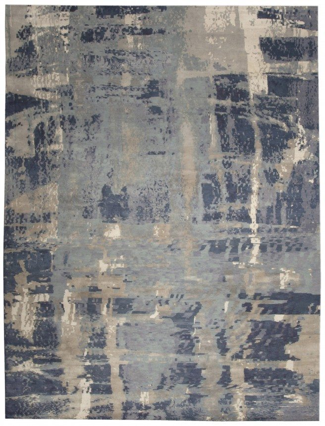 new-carpets-tibetan-silk-wool-wool-silk-blue-abstract-abstract-n10015-12x9