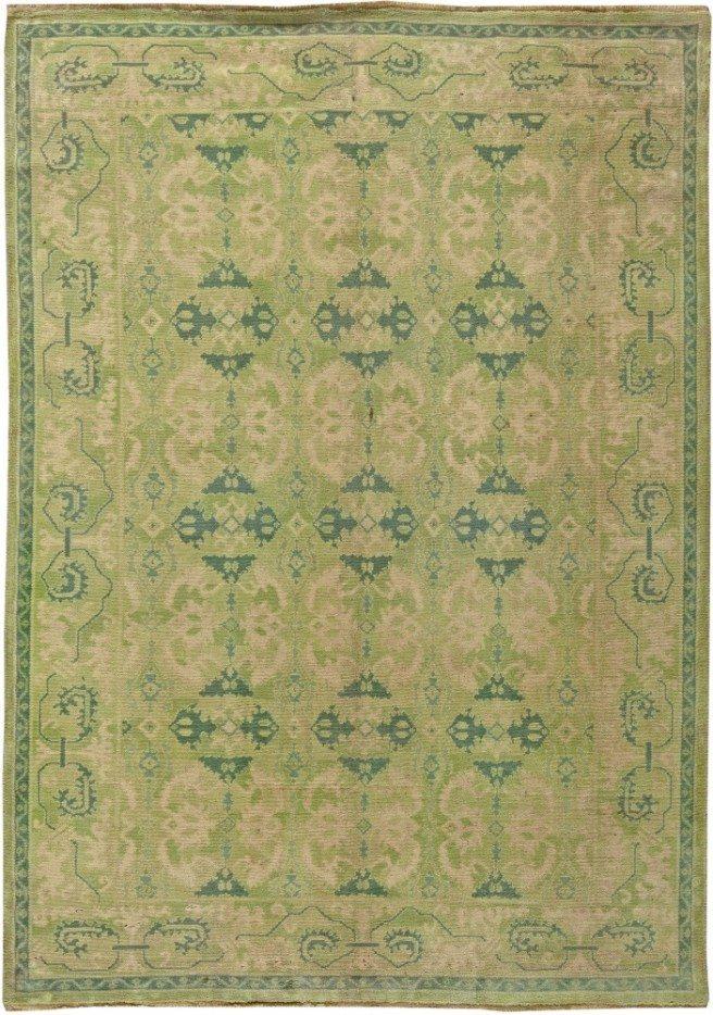 vintage-carpet-european-spanish-cuenca-green-botanical-9x6-bb5821
