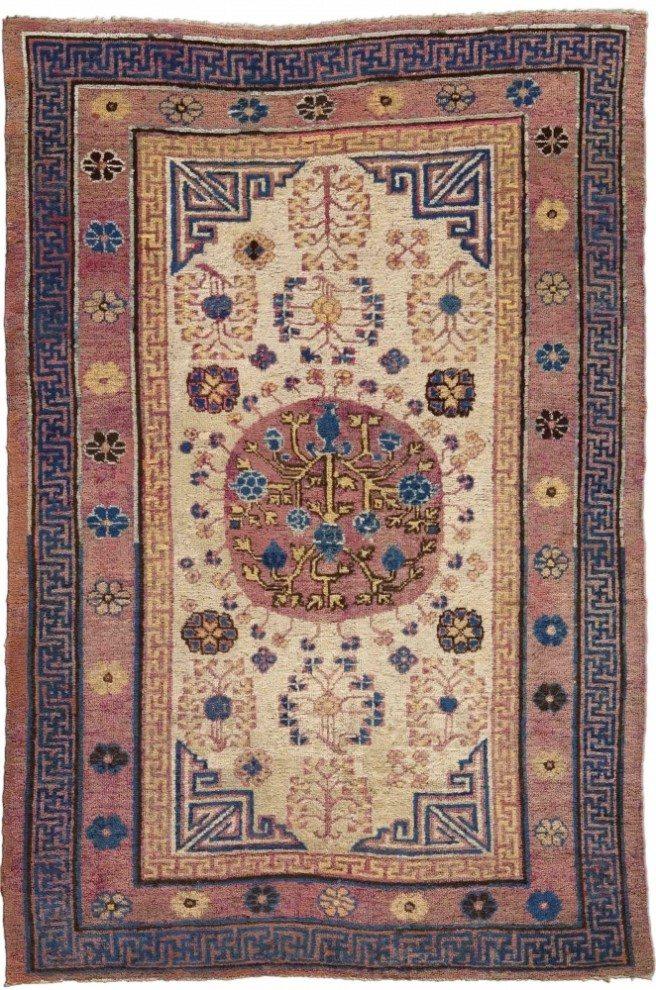 vintage-carpets-chinese-samarkand-khotan-pink-botanical-geometric-bb4393-7x5