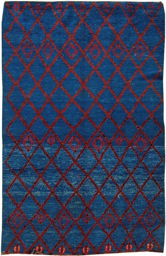 navy rug