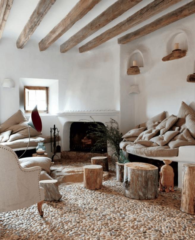 stone floor home