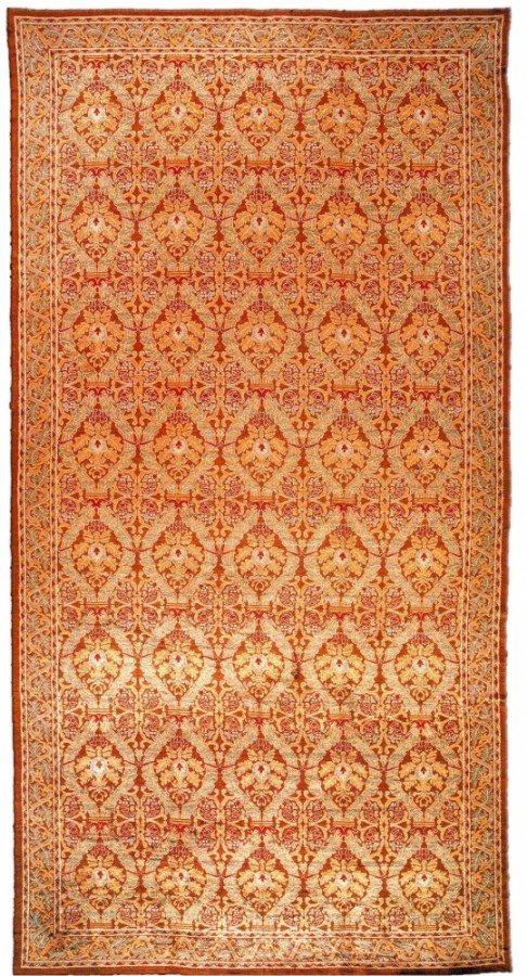 vintage-carpets-european-american-spanish-cuenca-orange-botanical-bb1161-27x14