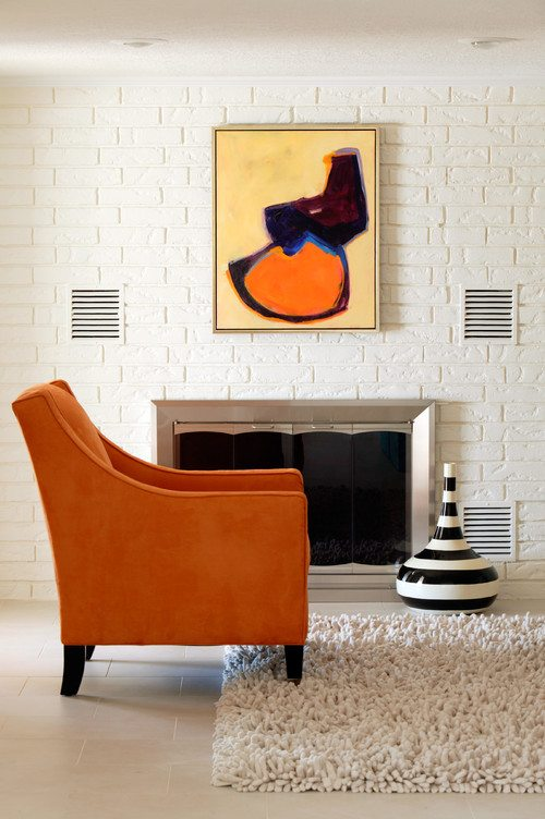 sala de estar eclética