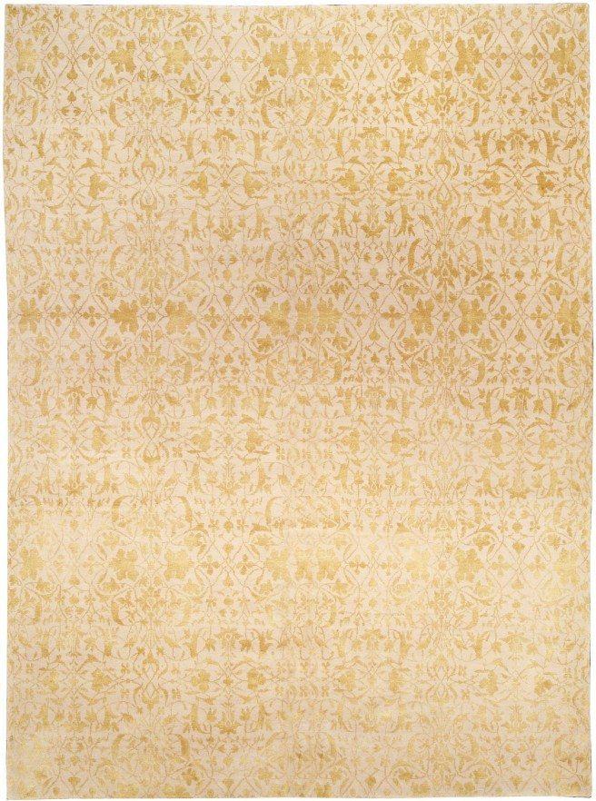 modern-rugs-custom-tibetan-s-gold-botanical-12x9-n10951