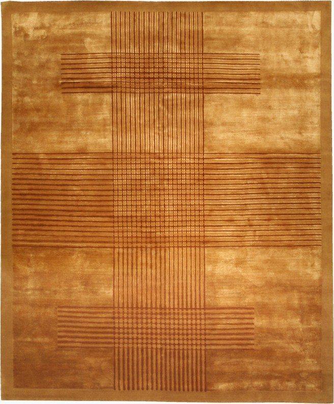 contemporary-rug-custom-deco-modern-tibetan-deco-ab-gold-11x10-n10968