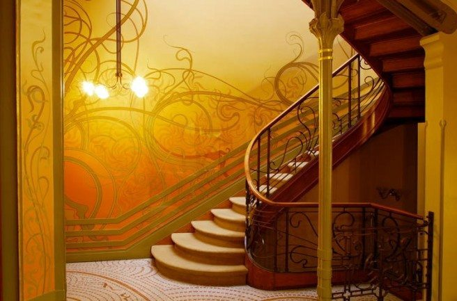 Hotel Tassel por Victor Horta, 1894