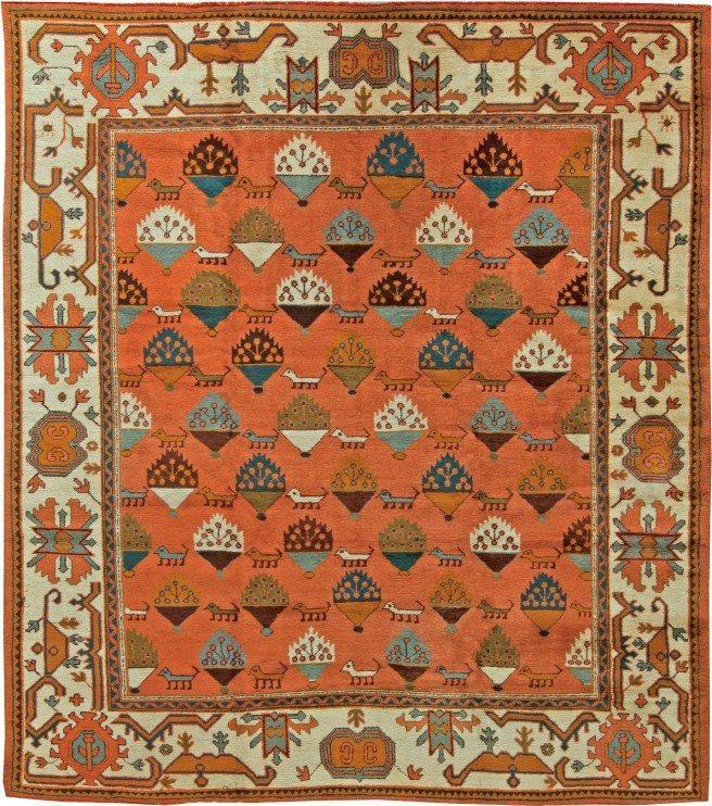 antique-rugs-turkish-oushak-botanical-10x9-bb6092