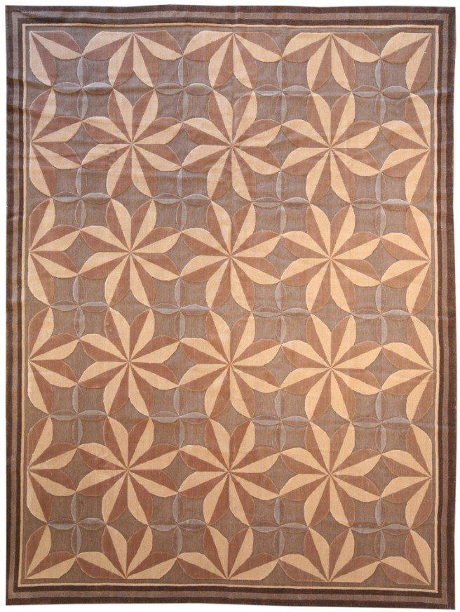 new-rugs-aubusson-flowers-modern-flat-weave-wool-floral-c-n10644-10x8