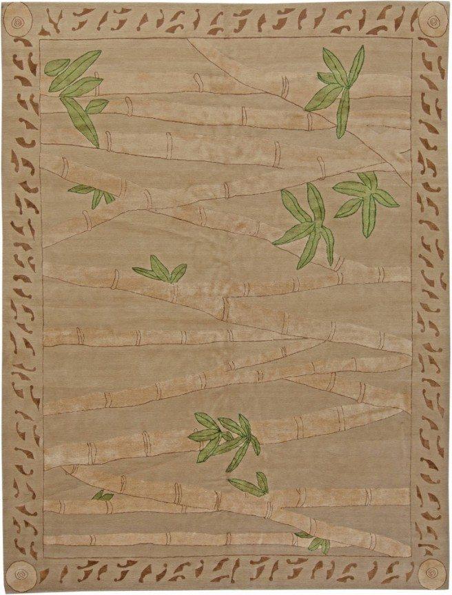 custom-tibetan-bamboo-beige-botanical-n10987