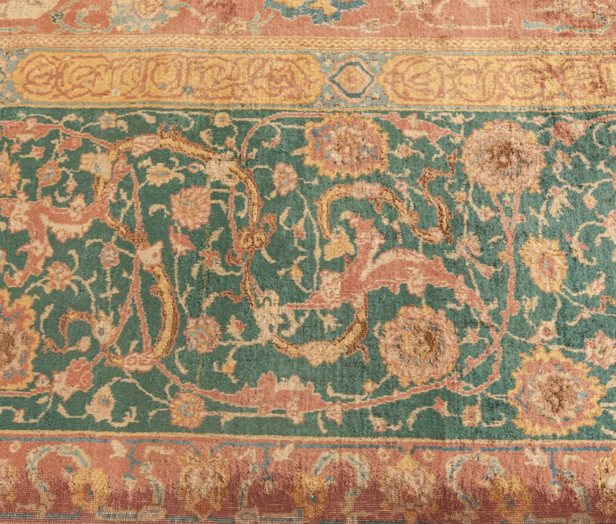 Antique Indian Carpet BB0379