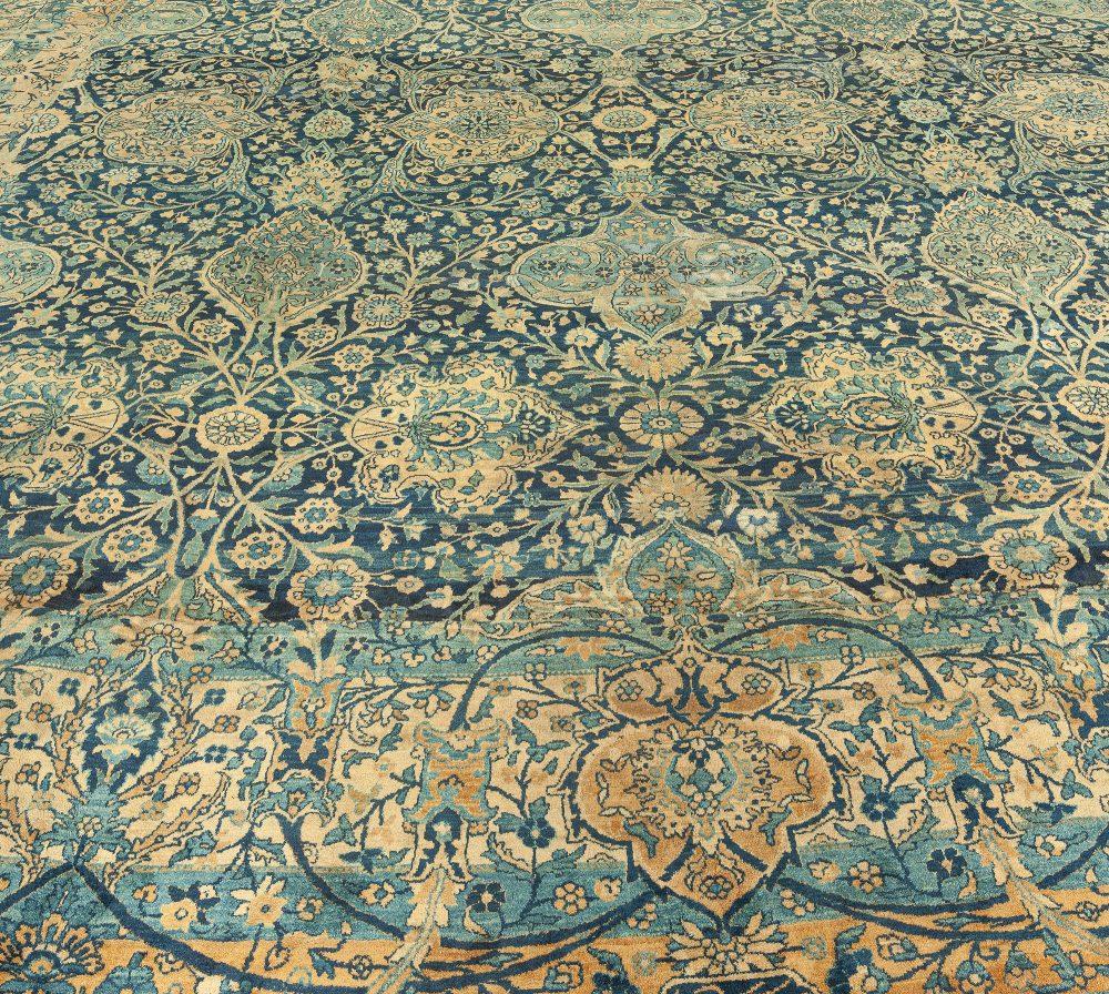 Antique Persian Kirman Rug (Size Adjusted) BB0631