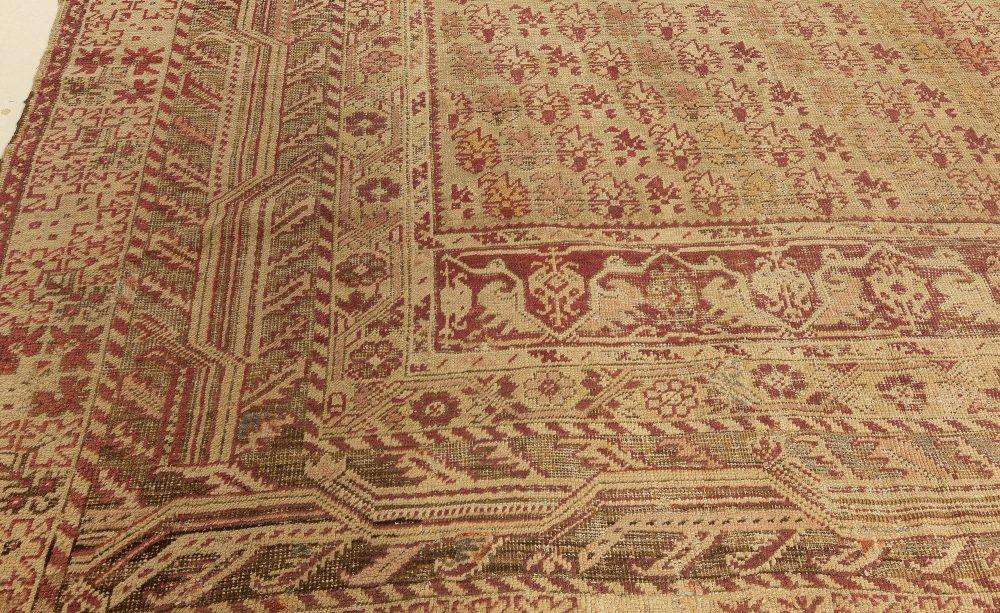 Antique Turkish Ghiordes Carpet BB0765
