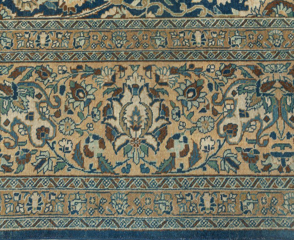 Vintage Persian Tabriz Carpet BB1665