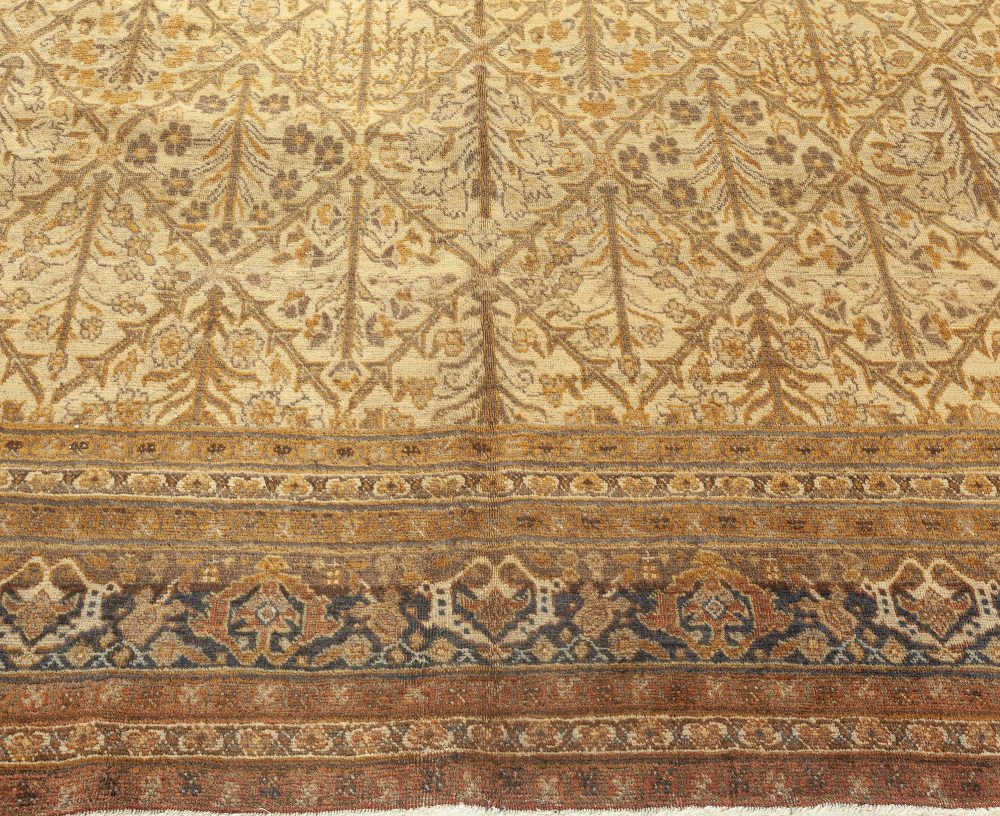 Antique Persian Tabriz Rug BB1927