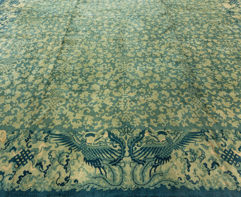 Extra Large Vintage Chinese Deco Rug BB2666
