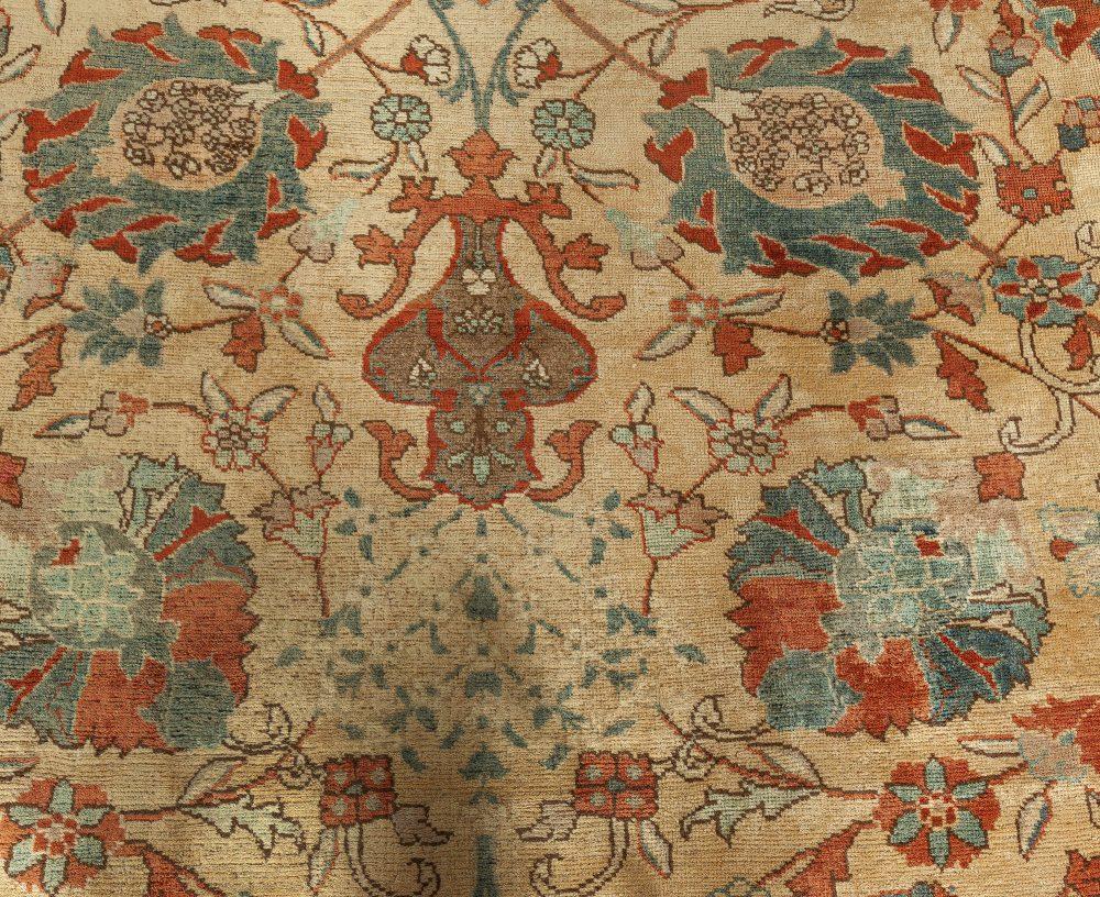 Antique Persian Tabriz Carpet BB3235