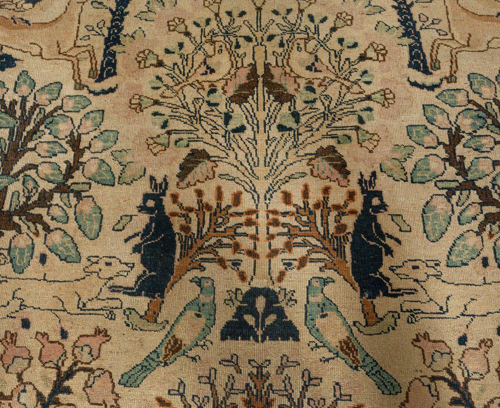 Antique Persian Tabriz Carpet BB3248