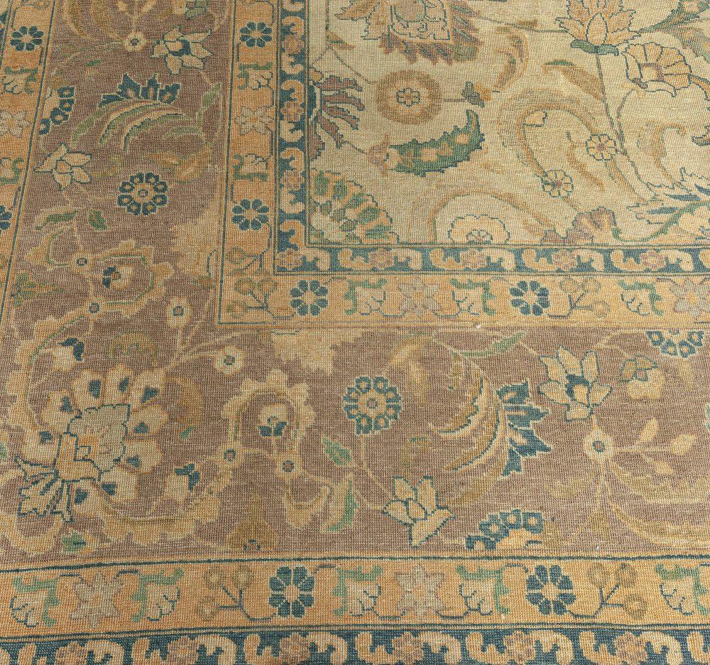 Vintage Persian Tabriz Carpet BB3359