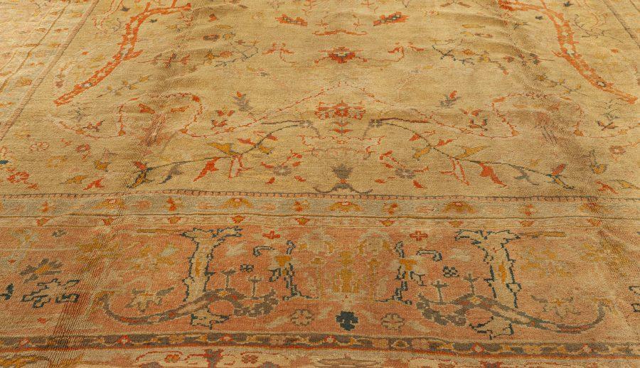 Antique Turkish Oushak Rug BB3419