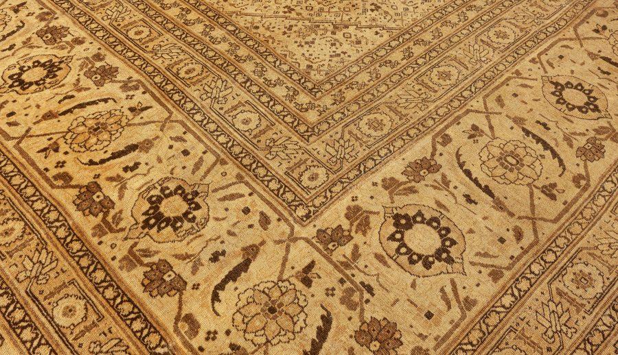 Oversized Antique Persian Tabriz Carpet BB3952