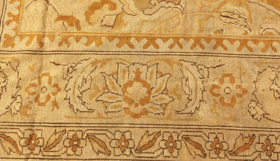 Antique Indian Amritsar Carpet BB4221