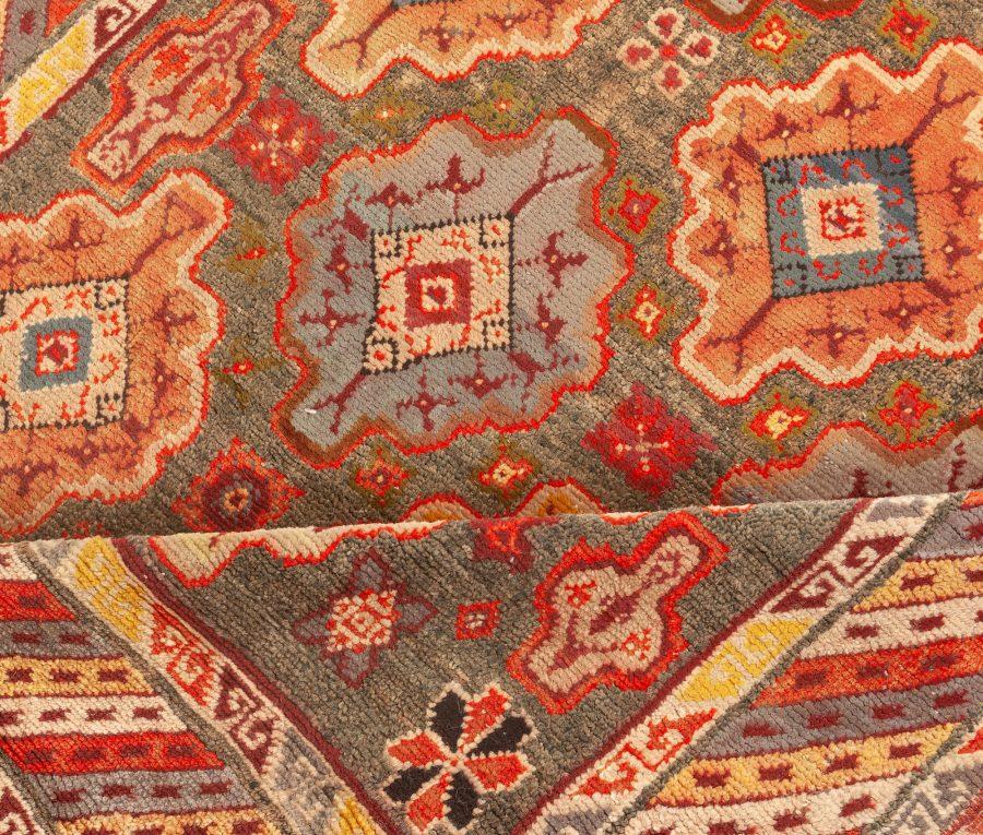 Vintage Moroccan Colorful Geometric Wool Rug BB4880