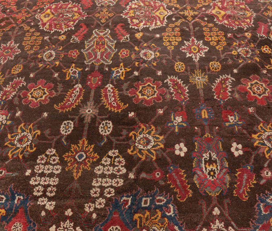 Vintage Indian Agra Carpet BB5556