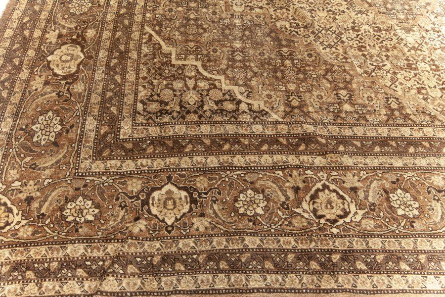 Antique Tabriz Beige Rug BB5561