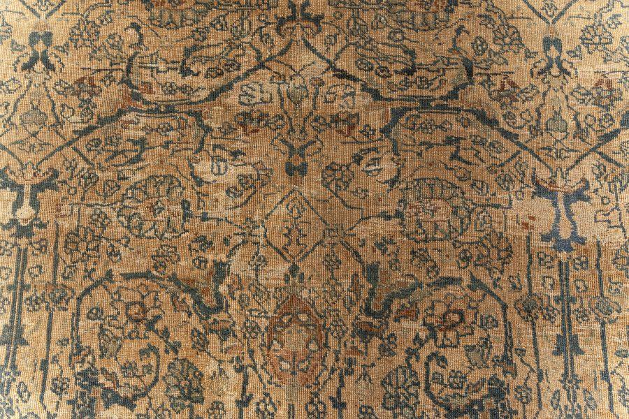 Vintage Persian Tabriz Carpet BB5567