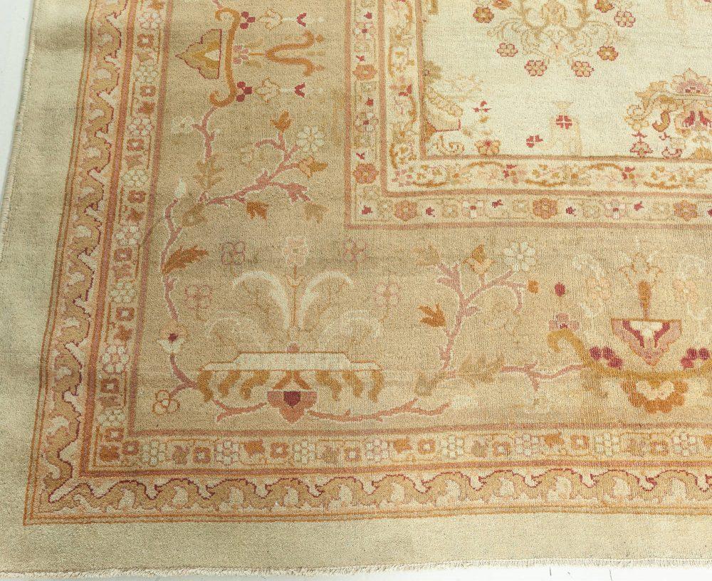 Antique Indian Amritsar Carpet (Size Adjusted) BB5751