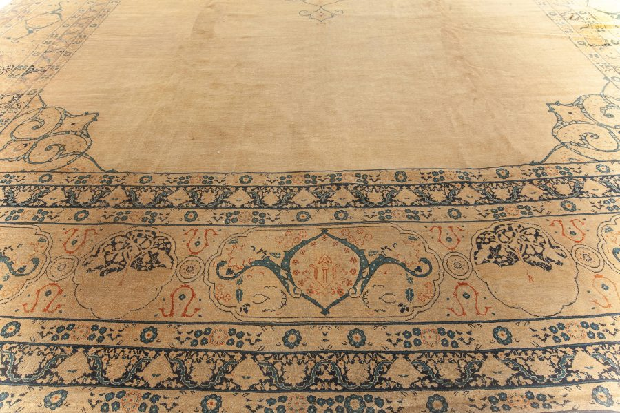 Large Antique Persian Tabriz Carpet BB5931