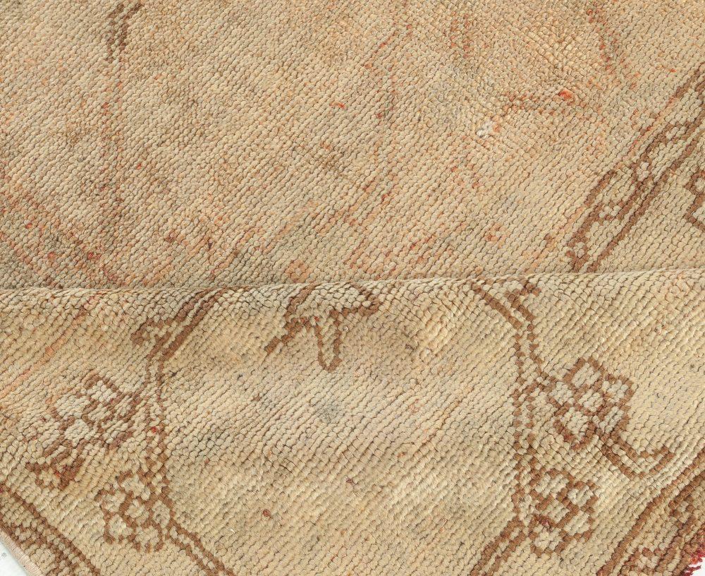 Antique Turkish Oushak Rug BB7505