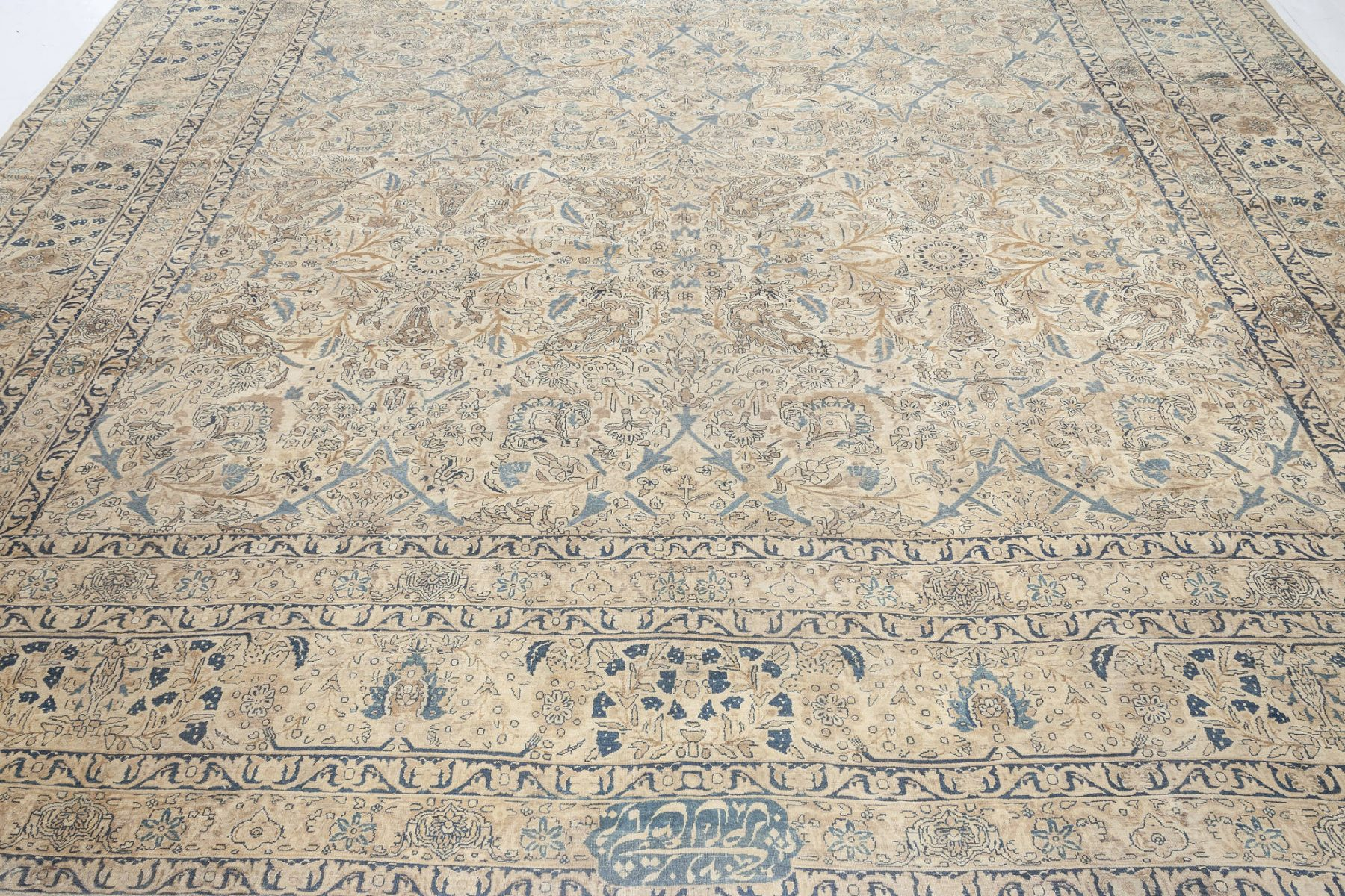 Antique Persian Kirman Rug BB5223