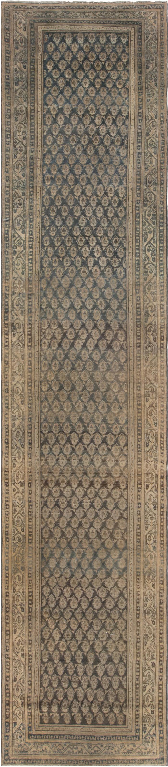 Antique Malayer Runner BB5266