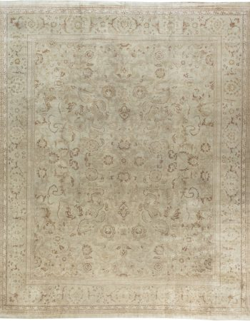 Restauriertes indischen Amritsar Teppich BB4996