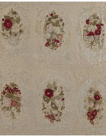 Antique Needlework Carpet BB4133