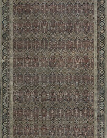 Antique Turkish Oushak Rug BB7097