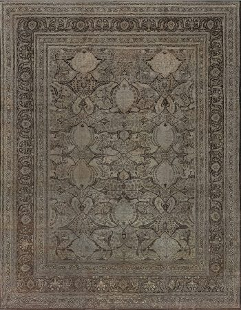 Antique Persian Tabriz Rug BB7278