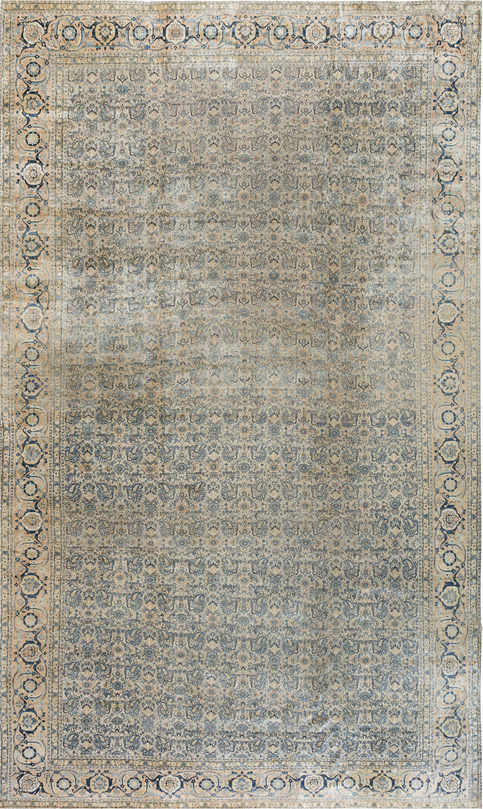 Antique Persian Tabriz Carpet BB7328