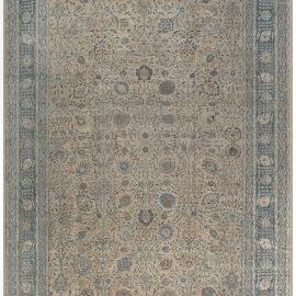 Persian Tabriz Antique Rug BB7573