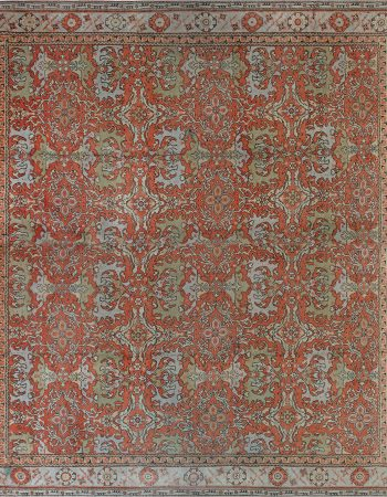 Oversized Vintage English Axminster Carpet BB1796